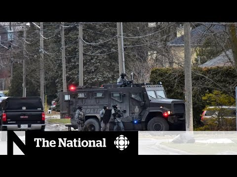 Police Standoff With Barricaded Suspect Ends In York Region