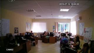 Дневное видео (режим AHD-Н) с купольной AHD камеры на базе модуля 1/2.7
