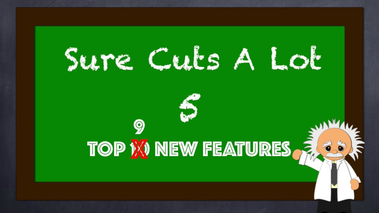 Top New Features In Sure Cuts A Lot 5 Youtube