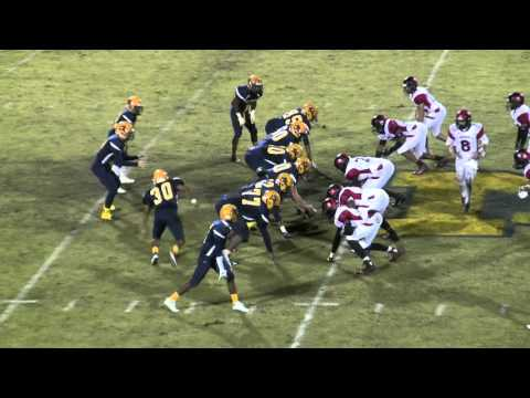 Rocky Mount High School Gryphons Football - Game Highlights vs. Eden Morehead HS - 11/27/15
