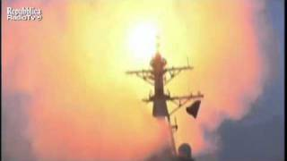 March 2011 - USS Stout Launches Tomahawk Missiles (Operation Odyssey Dawn)