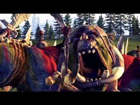 Lord Of The Dead Vs GreenSkin - Massive Battle Total War Warhammer  