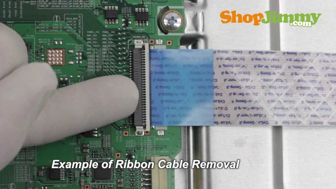 Lg Lcd Tv Repair How To Replace 6871l 2045a T Con Board Scepter Wiring Diagram Fix Tvs Youtube