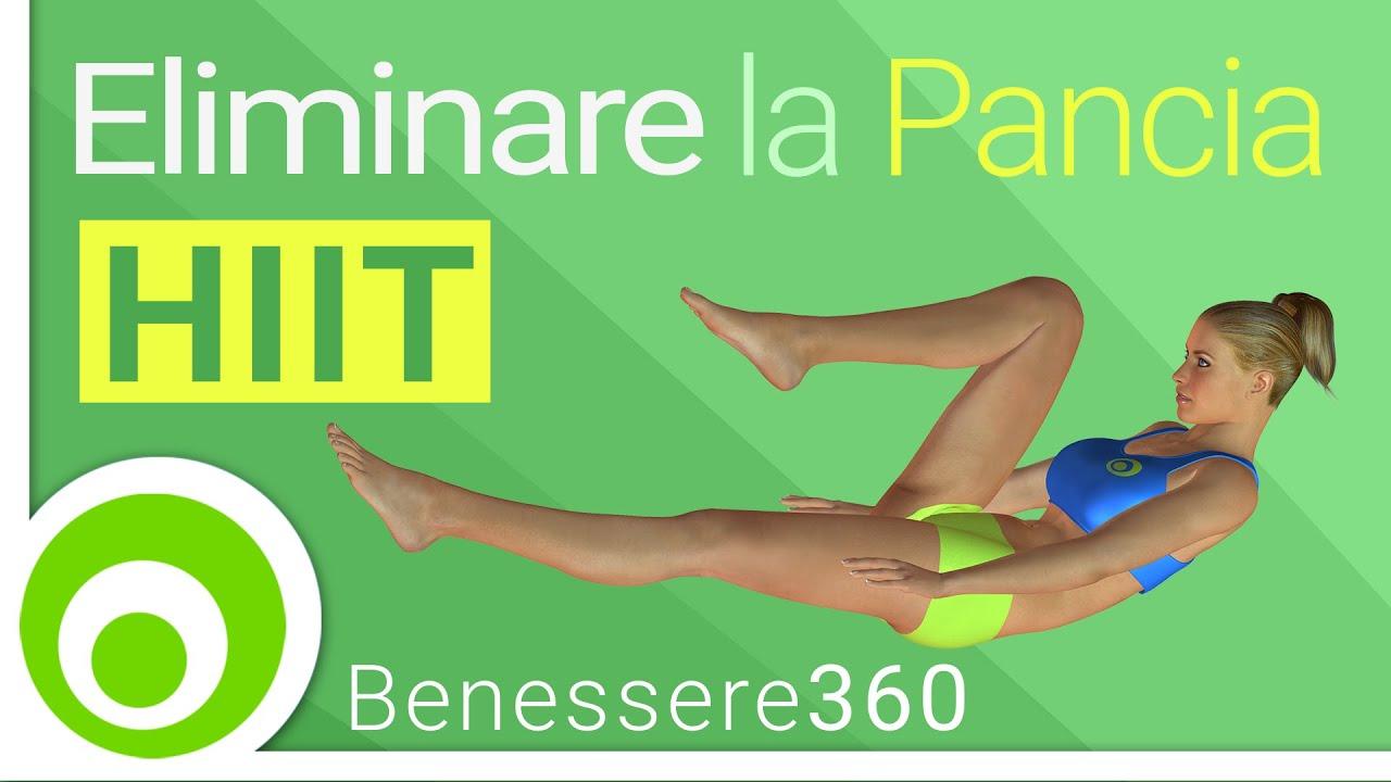 Dimagrire la pancia esercizi per eliminare il grasso for Dimagrire interno coscia benessere 360