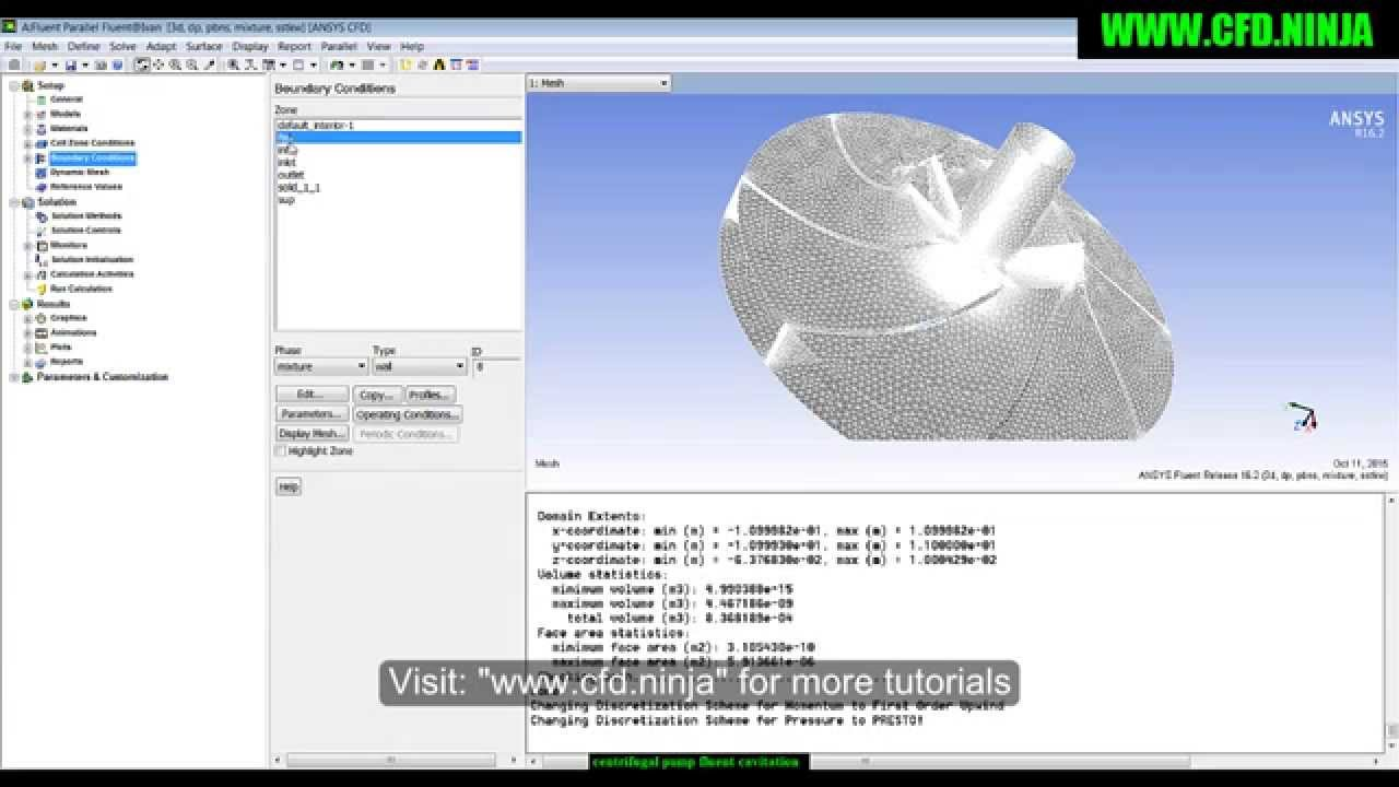 Ansys fluent 12. 1 in workbench tutorial step 3: meshing the.