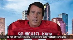 Wrongful Termination, Labor Lawyer  - Robert Michael Law Tampa Florida