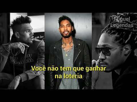 Miguel - Simplethings (Remix) (ft. Chris Brown & Future) (LEGENDADO/TRADUÇÃO)