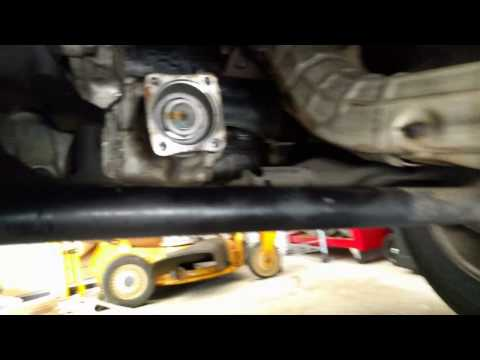 Element/CR-V AWD prop shaft removal/replacement