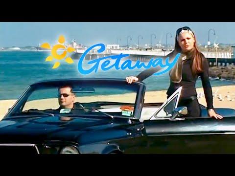 Mustangs in Black on Getaway