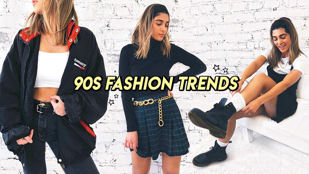 how to style 90s trends in 2019 ☆ mom jeans plaid skirts