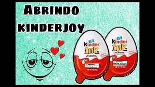 Brinquedo Surpresa: Kinder Joy com Giovanna e Luiz.