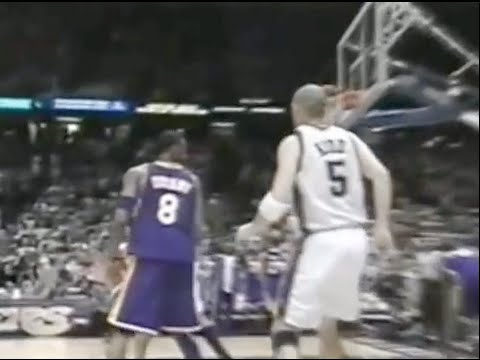Jason Kidd Schools Kobe - 2002 Finals