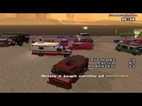 GTA San Andreas Multiplayer.cz tunning 17.6.2012