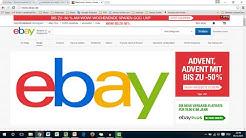 Verkaufen bei ebay - Anmelden und Artikel ausschreiben