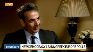 Greece's New Democracy Party President on Campaign, Tax Cut, Bond issuance, Economy