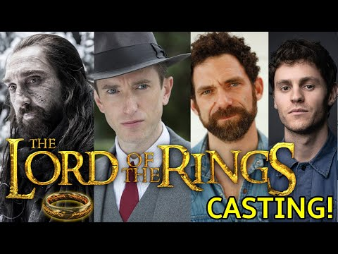 AMAZON'S LORD OF THE RINGS CAST ANNOUCED!