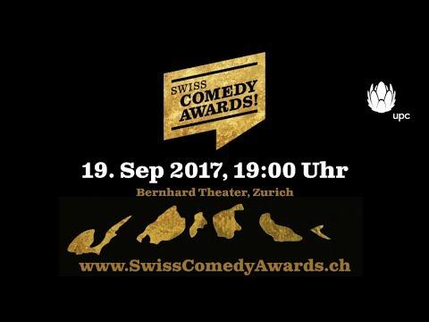 Swiss Comedy Awards! 2017 Trailer