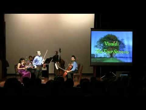 Vivaldi Four Seasons Spring Intro - Leonid Sushansky with the National Chamber Ensemble