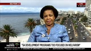 """SA Development programmes too focused on Welfarism"""