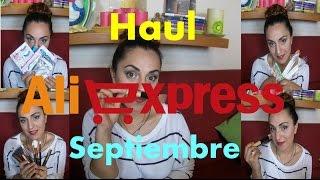 Haul AliExpress Septiembre 2016