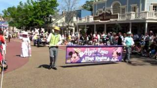 Happy Easter Pre-Parade, Magic Kingdom Walt Disney World 2010