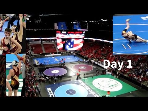 WIAA Wrestling STATE Individual (Day 1)
