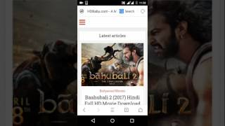 Baahubali 2: The Conclusion 2017 Hindi Full Movie Download Links
