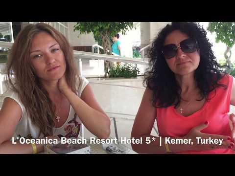 Отзыв об отеле LOceanica Beach Resort Hotel 5* 2017 (Camyuva, Kemer | Turkey)