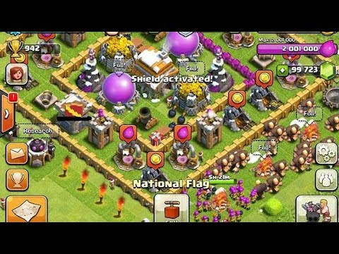 All Cheats Of Clash Of Clans Moded Version