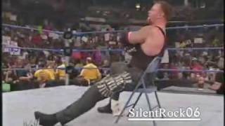 Undertaker attacks F.B.I and clear the Ring
