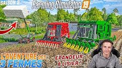 L'AVENTURE DES 3 FERMES S2 ! 2 ÉNORME MACHINES A COTONS !