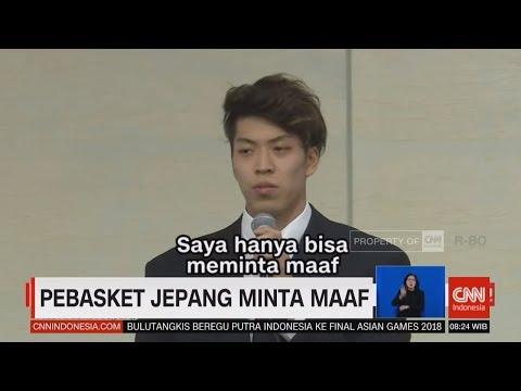Terlibat Skandal Seks, Atlet Basket Jepang Minta Maaf, Asian Games 2018