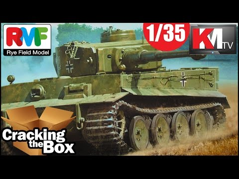 Unboxing Rye Field Model's Tiger I with FULL INTERIOR! (1/35