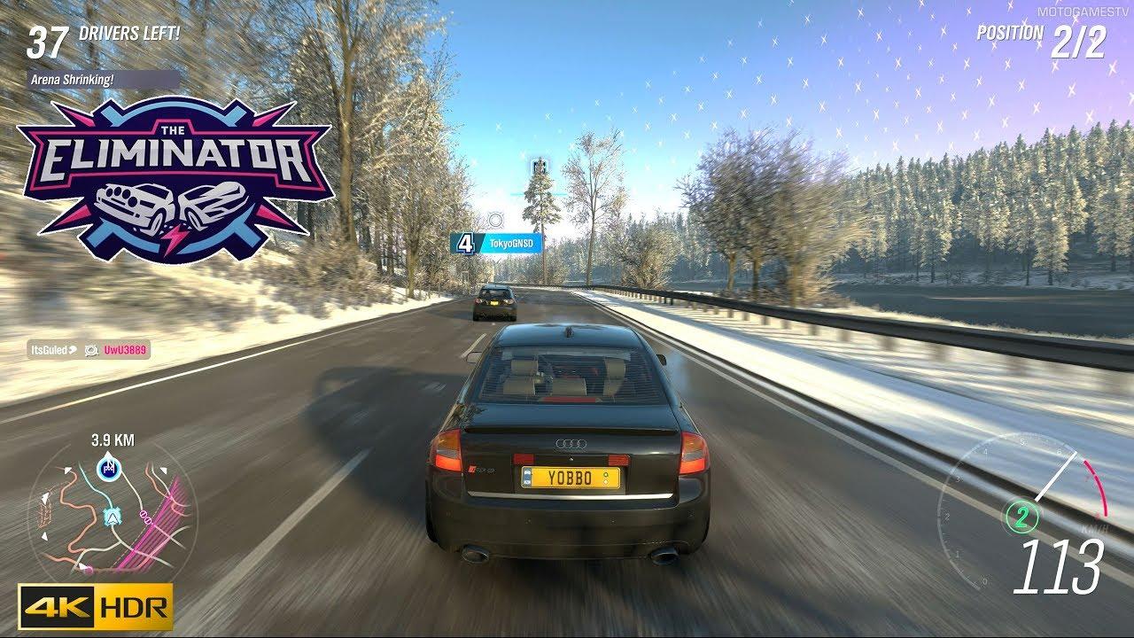 Forza Horizon 4 - Round of The Eliminator in 4K HDR thumbnail