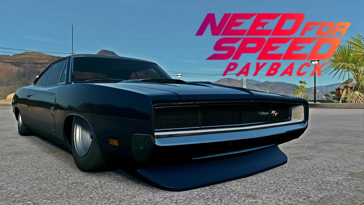 Need For Speed Payback The Fast And The Furious Vin Diesel S 1969