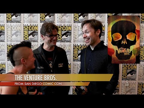 'The Venture Bros.' Interview | Jackson Publick, James Urbaniak, Michael Sinterniklaas