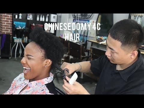 BLACK GIRL GETS HAIR DONE IN CHINA | SHOCKING RESULTS | SARAH KYOLA