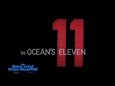 Saul Bass title sequence - Ocean's Eleven (1960)