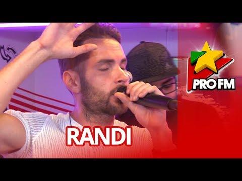 RANDI - Fana mea | PREMIERA ProFM LIVE Session