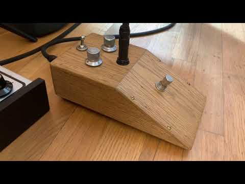 Tribute to Tone Bender mk1 wooden box take 1