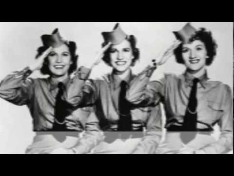 The Andrew Sisters - Beer Barrel Polka