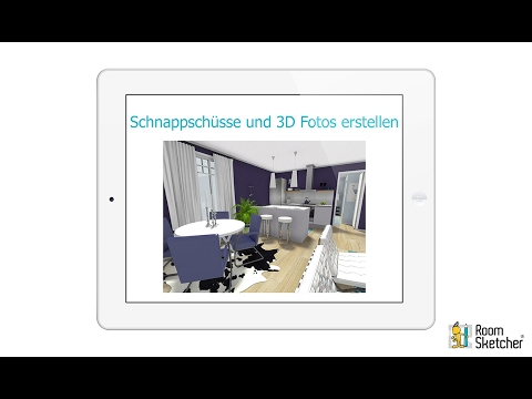 schnappsch sse und 3d fotos erstellen tablet app roomsketcher raumplaner youtube. Black Bedroom Furniture Sets. Home Design Ideas
