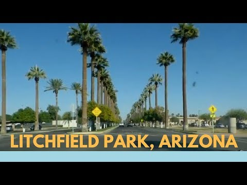 Driving through Litchfield Park | Living in Arizona