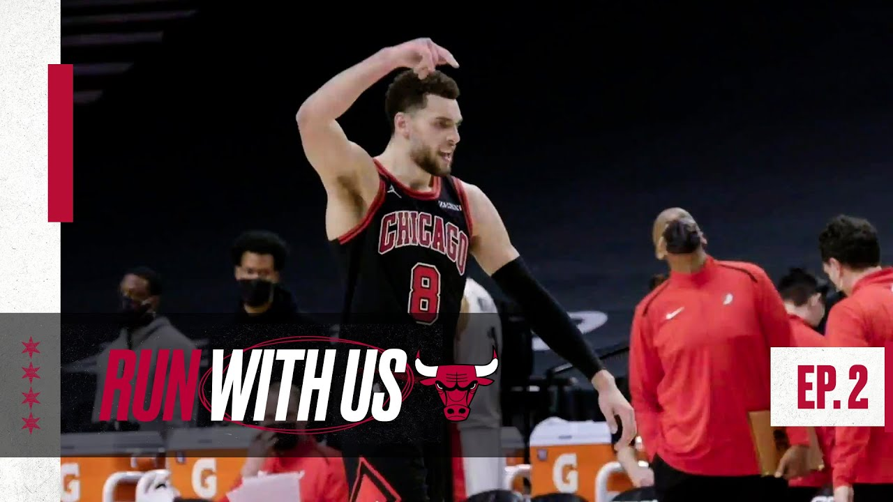 ZACH LAVINE DRAINS DAGGER IN PORTLAND | Run With Us - Season 4, Episode 2 | Chicago Bulls All-Access