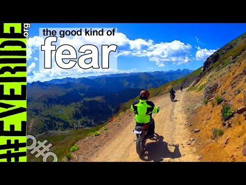 Can Fear Motivate for Good? ADV in Colorado's San Juan Mountains #everide
