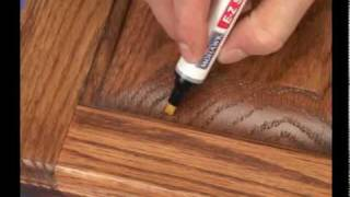 11-How to do a Burn in Repair for Wood Damages by Mohawk Finishing Products.mpg