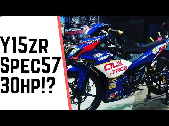 Y15ZR CUBPRIX SPEC 57 30HP by CILIK MOTORSPORT
