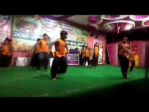 Bhajarangi Dance By Children, Bharath Primary School, Gokul Extension , Tumkur