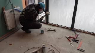 видео Утепление и остекление балконов: с панорамным, с фасадным остеклением