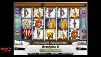 Sensational £1140 Win - Free Games Bonus - Viking's Treasure Online Slot Review